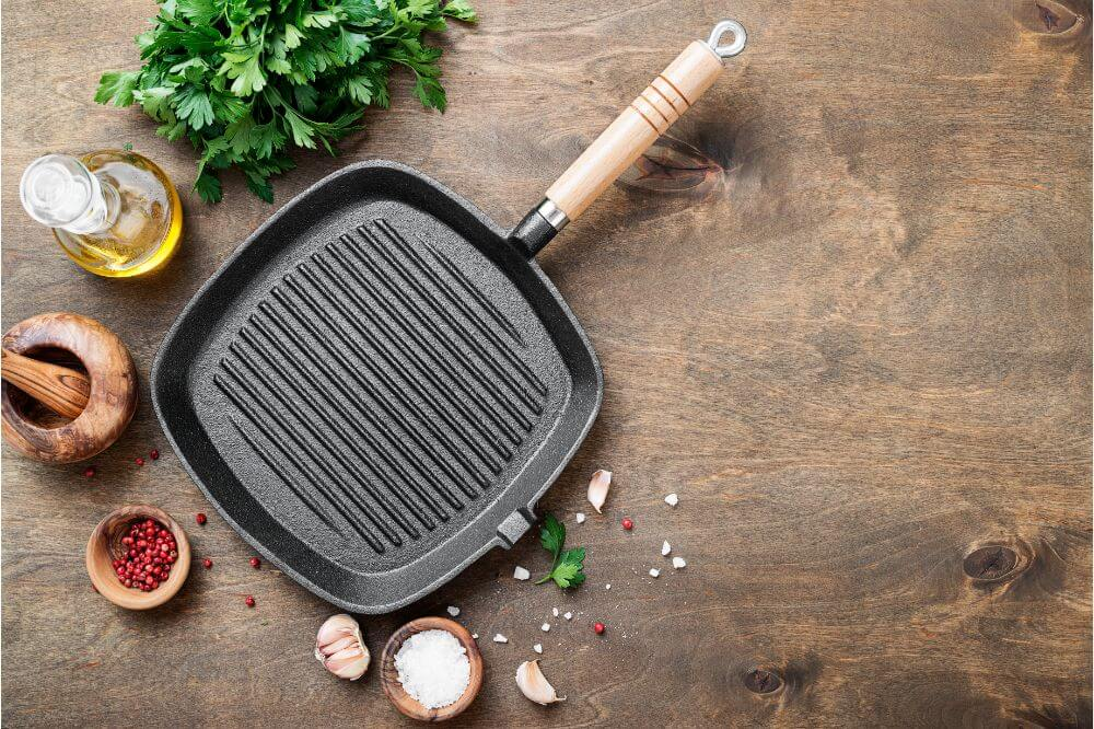 Stainless Steel Griddle Top vs Cast Iron