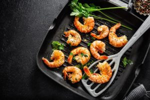 How to Cook Shrimp on a Griddle